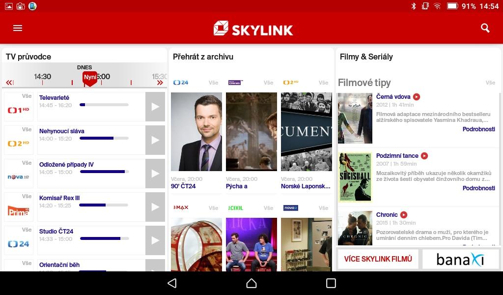 Skylink Live TV 02