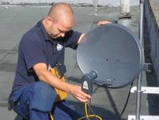 Instalace satelitu