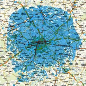 Regionální síti 12 Praha