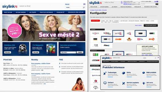 Nový web Skylink již od 1. listopadu